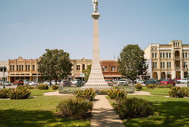 Confederate Square, Gonzales, Texas