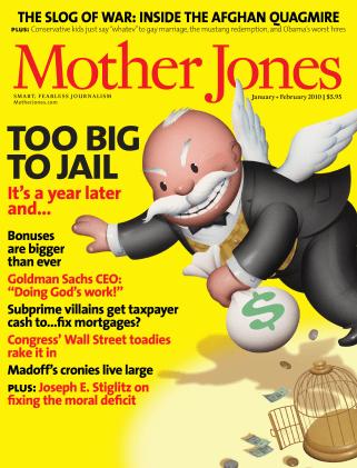 Mother Jones January/February 2010 Issue