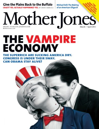 Mother Jones March/April 2011 Issue