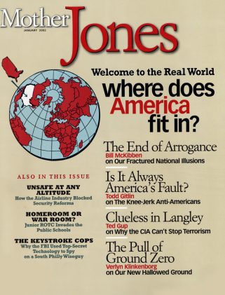Mother Jones January/February 2002 Issue