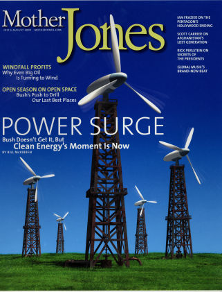 Mother Jones July/August 2002 Issue