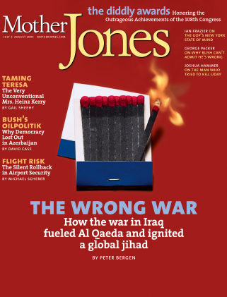Mother Jones July/August 2004 Issue
