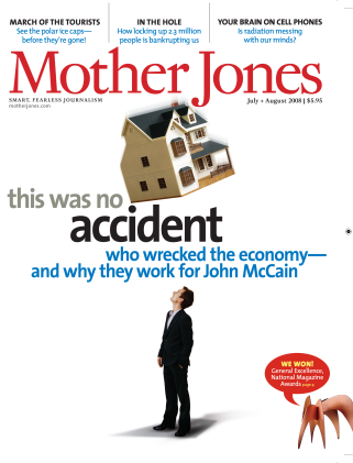 Mother Jones July/August 2008 Issue
