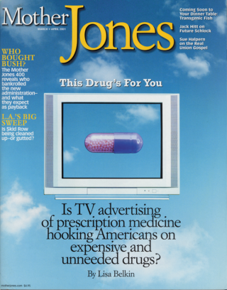 Mother Jones March/April 2001 Issue