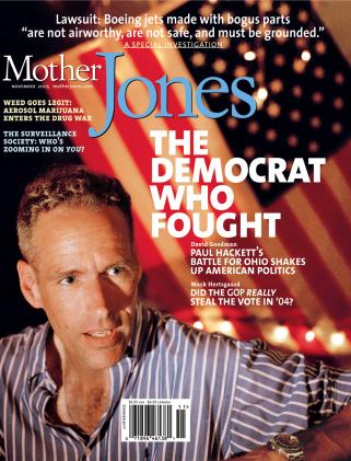 Mother Jones November 2005 Issue