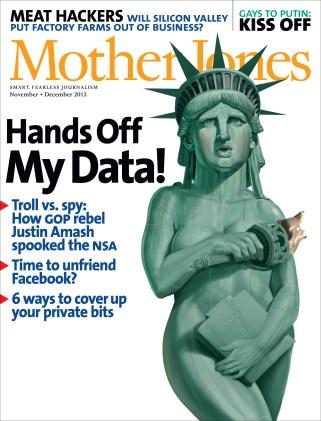 Mother Jones November/December 2013 Issue