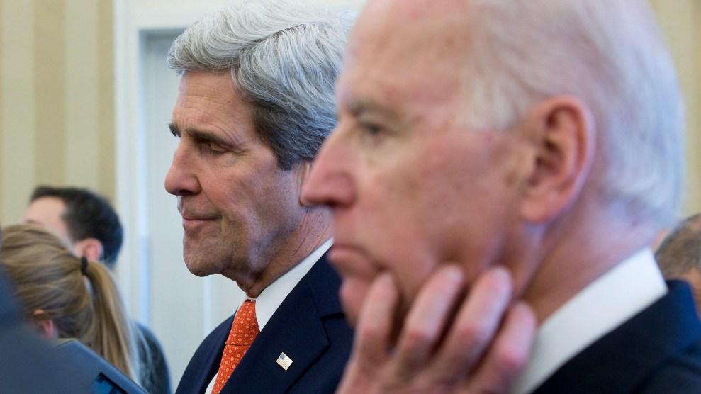 Kerry and Biden