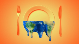 "Eating in Climate Chaos With Mother Jones' Podcast, ""Bite"""