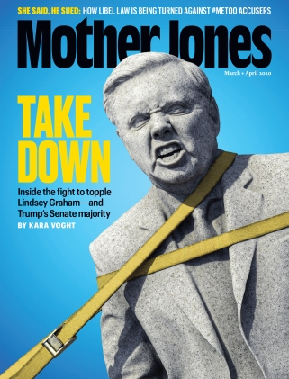 Mother Jones March April 2020 Issue