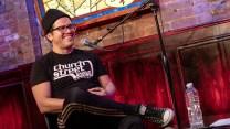 John Leguizamo on stage at the Comedy Center