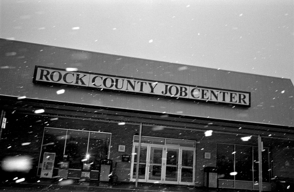 Rock County Job Center, Janesville, Wisconsin.
