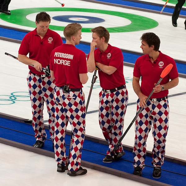 Norwegian Curling Team