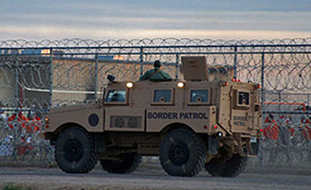 Border patrol at Reeves prison