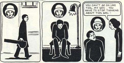 In Satrapi's graphic novel, Nasser plays the tar, a traditional instrument. TK tk tk