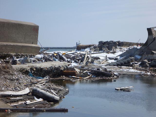 Damage to Fukushima prefecture: Hajime NAKANO via Flickr