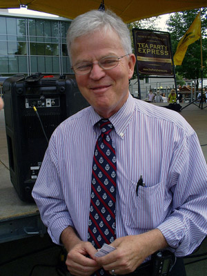 Roemer at a tea party rally in Manchester, New Hampshire thebudman623/Flickr