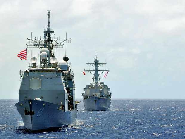 Fuel speed ahead: The fleet goes green US Navy/Declan Barnes