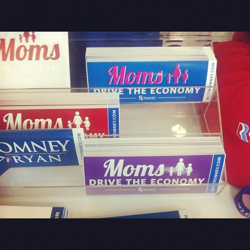 Moms for Romney/Ryan Anthony DeRosa/Reuters