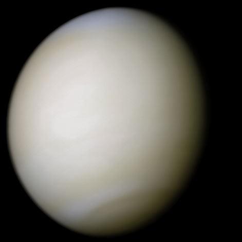Venus in true color: NASA/Ricardo Nunes