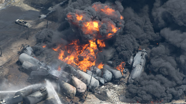 Lac Megantic oil train accident